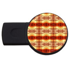 Fabric Design Pattern Color Usb Flash Drive Round (2 Gb)