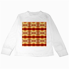 Fabric Design Pattern Color Kids Long Sleeve T Shirts
