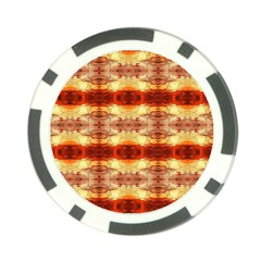 Fabric Design Pattern Color Poker Chip Card Guard