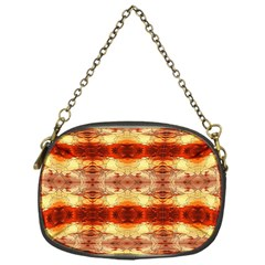 Fabric Design Pattern Color Chain Purses (One Side)