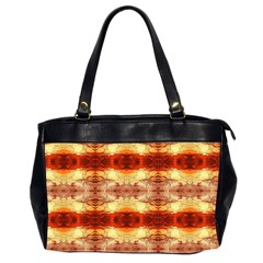 Fabric Design Pattern Color Office Handbags (2 Sides)