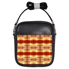 Fabric Design Pattern Color Girls Sling Bags