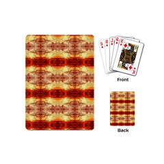 Fabric Design Pattern Color Playing Cards (mini)