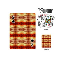 Fabric Design Pattern Color Playing Cards 54 (Mini)