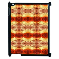 Fabric Design Pattern Color Apple iPad 2 Case (Black)