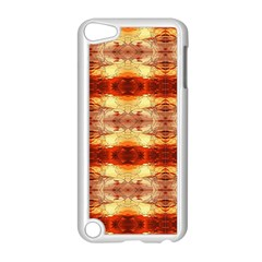 Fabric Design Pattern Color Apple iPod Touch 5 Case (White)