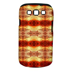 Fabric Design Pattern Color Samsung Galaxy S Iii Classic Hardshell Case (pc+silicone)