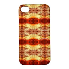 Fabric Design Pattern Color Apple Iphone 4/4s Hardshell Case With Stand