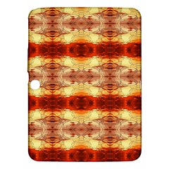 Fabric Design Pattern Color Samsung Galaxy Tab 3 (10 1 ) P5200 Hardshell Case