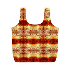 Fabric Design Pattern Color Full Print Recycle Bags (m)
