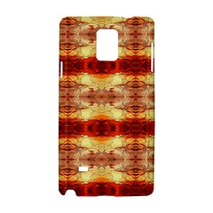 Fabric Design Pattern Color Samsung Galaxy Note 4 Hardshell Case