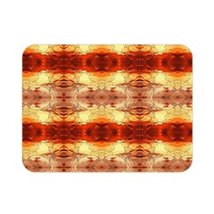 Fabric Design Pattern Color Double Sided Flano Blanket (Mini)