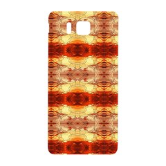 Fabric Design Pattern Color Samsung Galaxy Alpha Hardshell Back Case