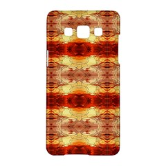 Fabric Design Pattern Color Samsung Galaxy A5 Hardshell Case