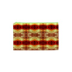 Fabric Design Pattern Color Cosmetic Bag (XS)