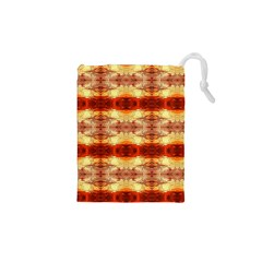 Fabric Design Pattern Color Drawstring Pouches (XS)
