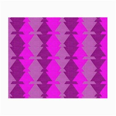 Fabric Textile Design Purple Pink Small Glasses Cloth (2 Side)