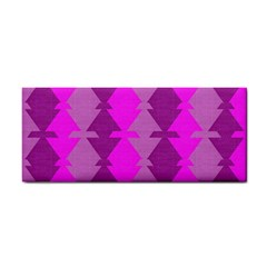 Fabric Textile Design Purple Pink Cosmetic Storage Cases