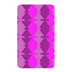 Fabric Textile Design Purple Pink Memory Card Reader