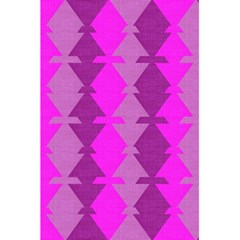 Fabric Textile Design Purple Pink 5.5  x 8.5  Notebooks