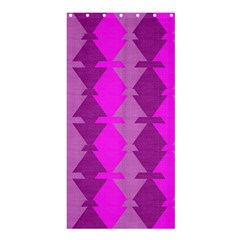 Fabric Textile Design Purple Pink Shower Curtain 36  x 72  (Stall)