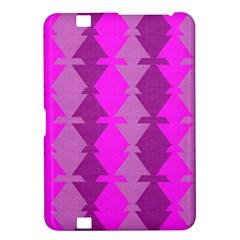 Fabric Textile Design Purple Pink Kindle Fire HD 8.9