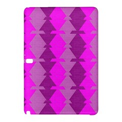 Fabric Textile Design Purple Pink Samsung Galaxy Tab Pro 12.2 Hardshell Case