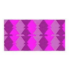 Fabric Textile Design Purple Pink Satin Wrap