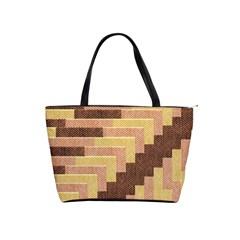 Fabric Textile Tiered Fashion Shoulder Handbags