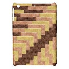 Fabric Textile Tiered Fashion Apple Ipad Mini Hardshell Case