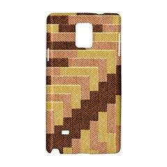 Fabric Textile Tiered Fashion Samsung Galaxy Note 4 Hardshell Case