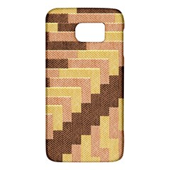 Fabric Textile Tiered Fashion Galaxy S6