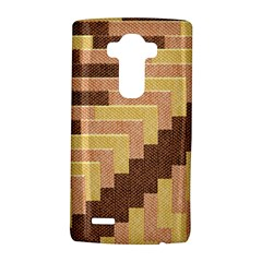 Fabric Textile Tiered Fashion LG G4 Hardshell Case