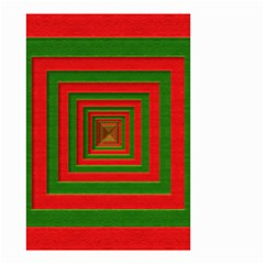 Fabric Texture 3d Geometric Vortex Small Garden Flag (Two Sides)