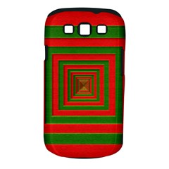 Fabric Texture 3d Geometric Vortex Samsung Galaxy S Iii Classic Hardshell Case (pc+silicone)