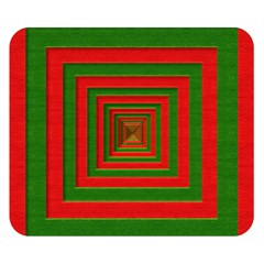 Fabric Texture 3d Geometric Vortex Double Sided Flano Blanket (Small)