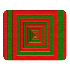 Fabric Texture 3d Geometric Vortex Double Sided Flano Blanket (Large)
