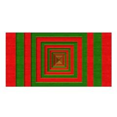 Fabric Texture 3d Geometric Vortex Satin Shawl