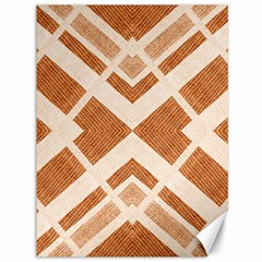 Fabric Textile Tan Beige Geometric Canvas 36  x 48