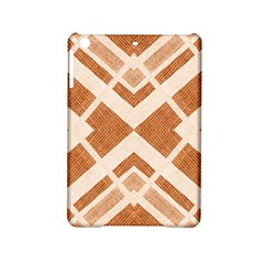 Fabric Textile Tan Beige Geometric iPad Mini 2 Hardshell Cases