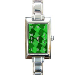 Fabric Textile Texture Surface Rectangle Italian Charm Watch