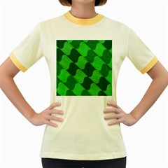 Fabric Textile Texture Surface Women s Fitted Ringer T-Shirts
