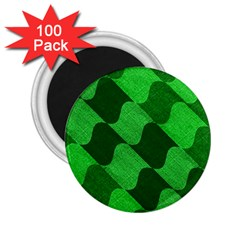 Fabric Textile Texture Surface 2.25  Magnets (100 pack)