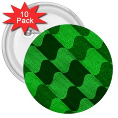 Fabric Textile Texture Surface 3  Buttons (10 pack)
