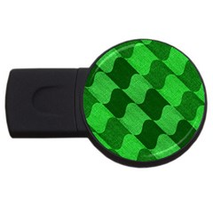 Fabric Textile Texture Surface USB Flash Drive Round (1 GB)