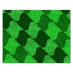 Fabric Textile Texture Surface Rectangular Jigsaw Puzzl