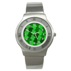 Fabric Textile Texture Surface Stainless Steel Watch