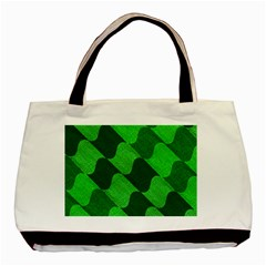 Fabric Textile Texture Surface Basic Tote Bag (two Sides)