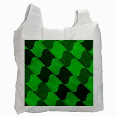 Fabric Textile Texture Surface Recycle Bag (One Side)