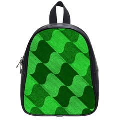 Fabric Textile Texture Surface School Bags (Small)